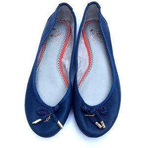 Circus by Sam Edelman Ballet Flats Blue Size 8